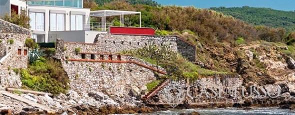 Villa by the sea with private access in the province of Livorno