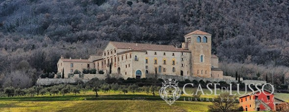 Finely restored ancient abbey