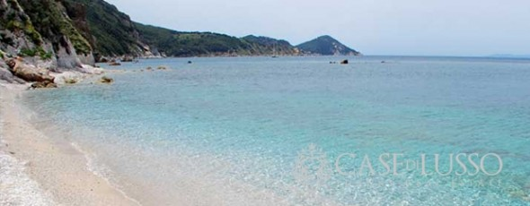 Villa direttamente sul mare all'Isola d'Elba