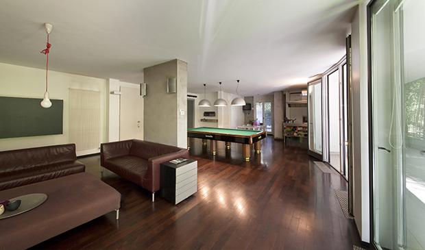 Appartamento case di for Piani di lusso open space