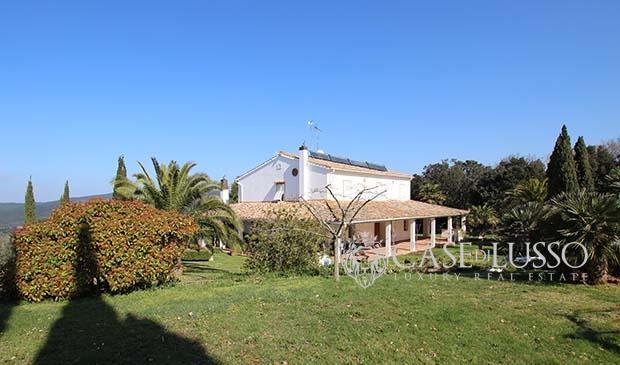 Vista mare case di for Case di lusso di campagna francese
